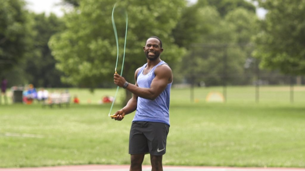 Jump Rope Workout with Gideon Akande