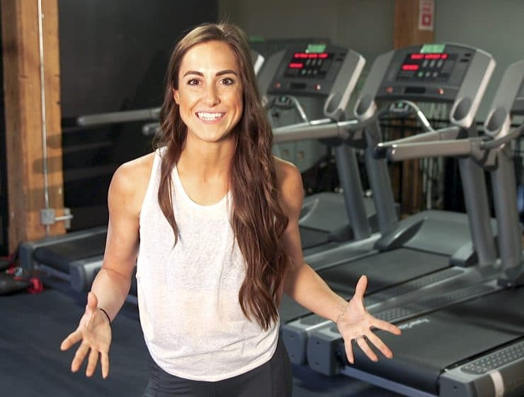 Nikki Metzger Treadmill Workout Feature Image