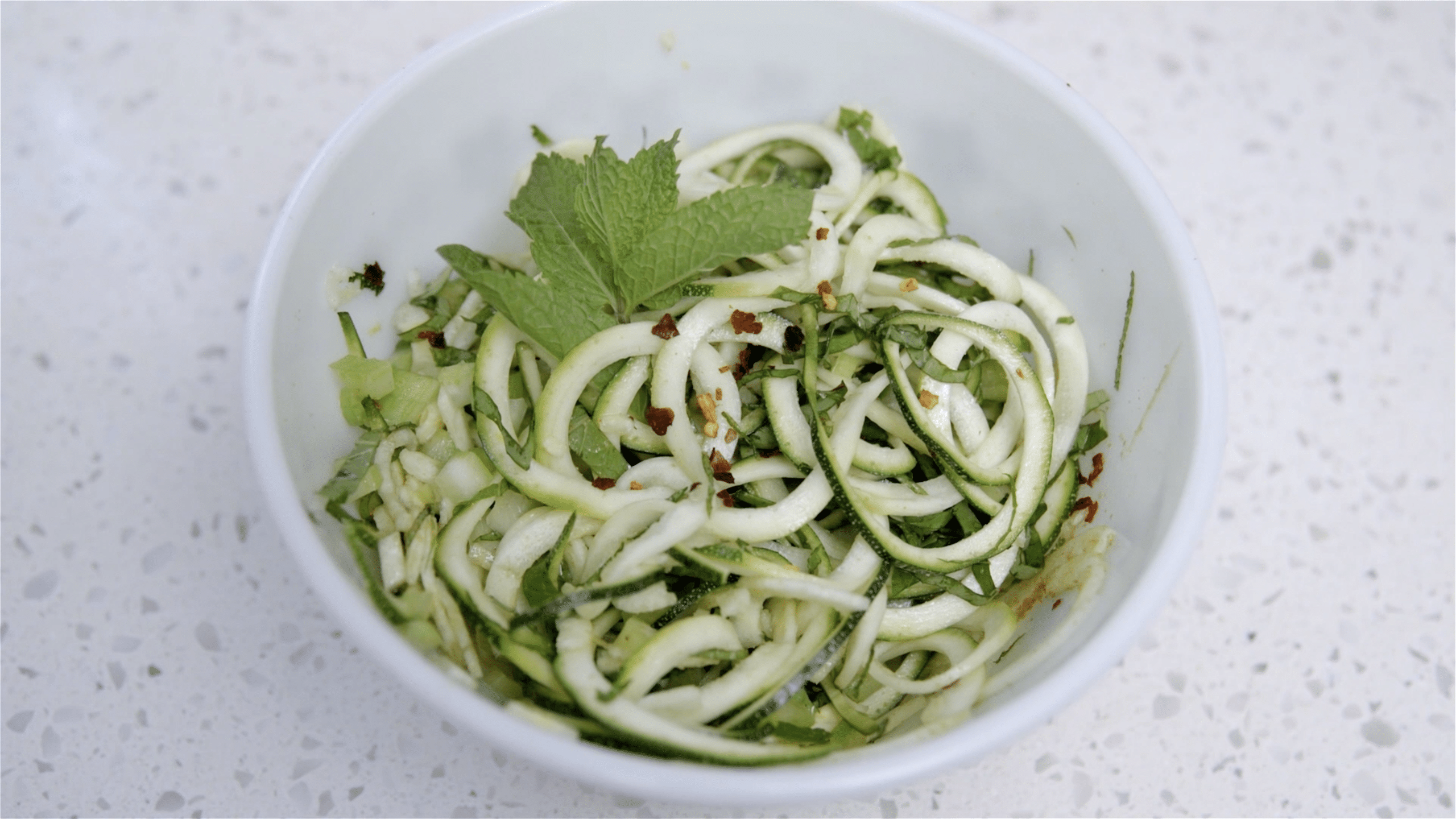 Zoodles Recipe Video Feature Image