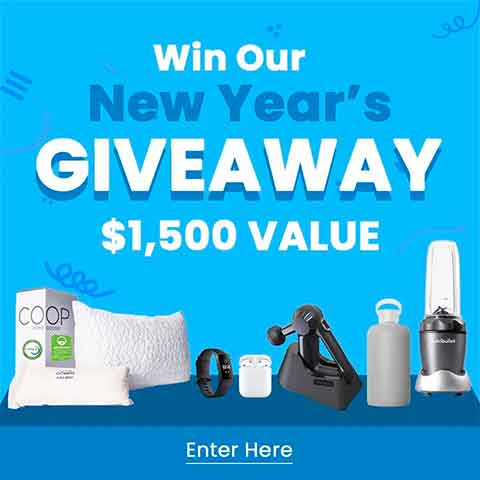 New Years Giveaway Web Banner
