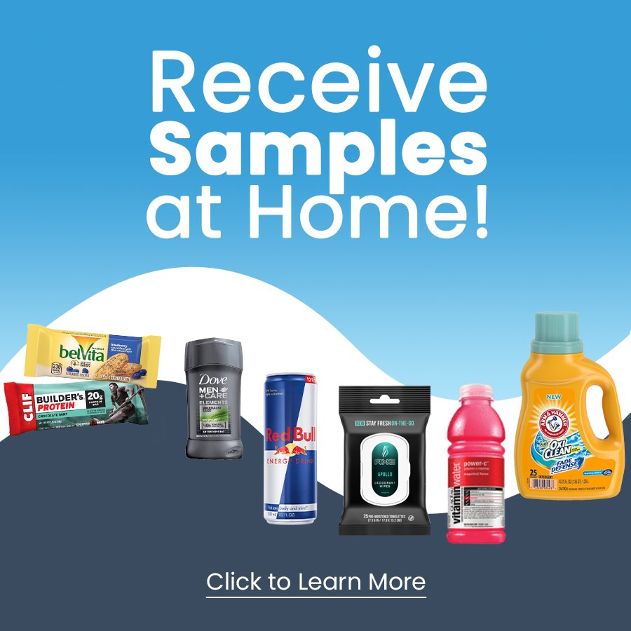 Generation Active Free Samples at Home Web Banners